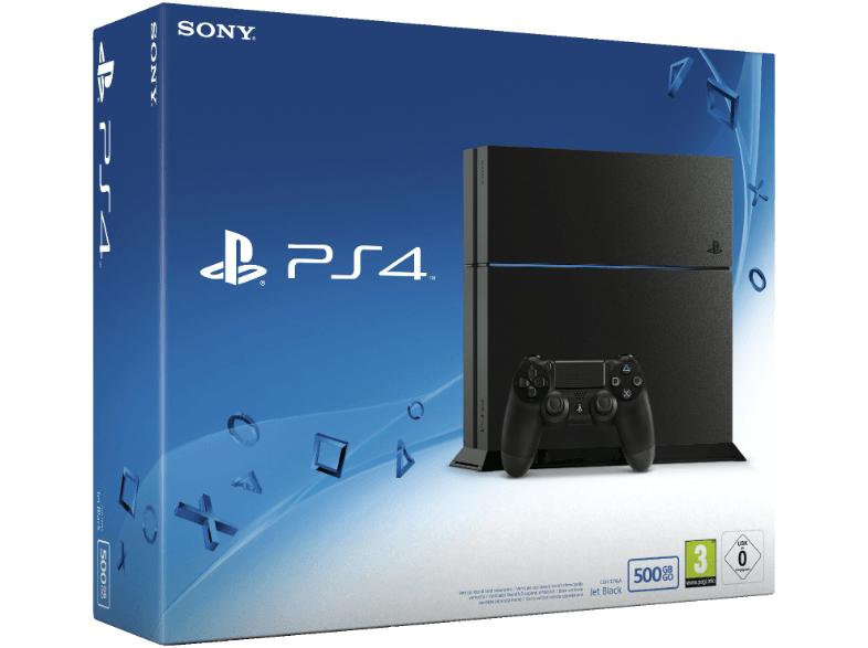 (LogoiX) Saturn: PlayStation 4 (500 GB, CUH-1216A) um 205 € - 27% sparen