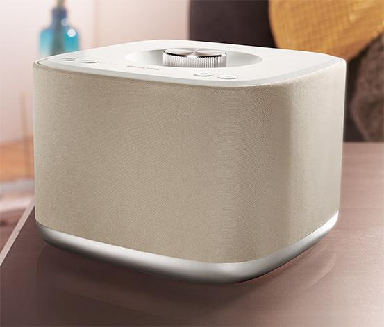 Philips Multiroom-Lautsprecher izzy BM5 (cremefarben) für 69€