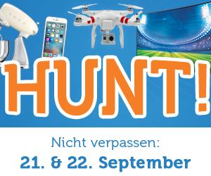 iBood Hunt - Ständig wechselnde Angebote am 21. und 22. September + keine Versandkosten!