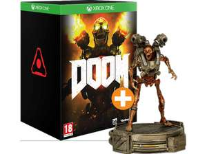 [Saturn/MM] Nur Online -> DOOM Collectors Edition inkl. 30cm Revenant-Statue [Xbox One] nur 45€
