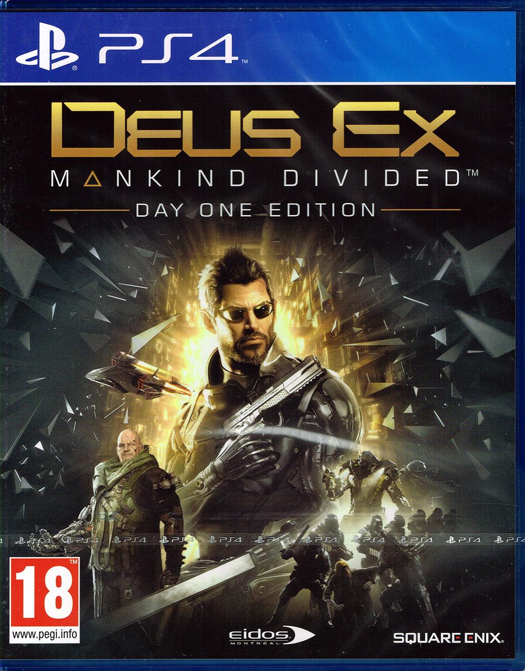 [gameware.at]Deus Ex: Mankind Divided D1 Edition (AT-PEGI) - versandkostenfrei!