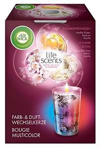 [www.AMAZON.de] Airwick Duftkerze/Duft fruchtige Melone trifft auf Vanille / Bestpreis im Ö-Handel liegt bei € 3,99