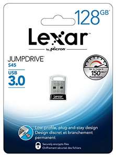 Lexar JumpDrive S45 (128 GB, USB 3.0) um 23,90 € - 36% sparen