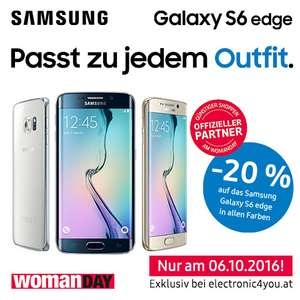 WOMAN DAY - Samsung Galaxy S6 Edge -20%