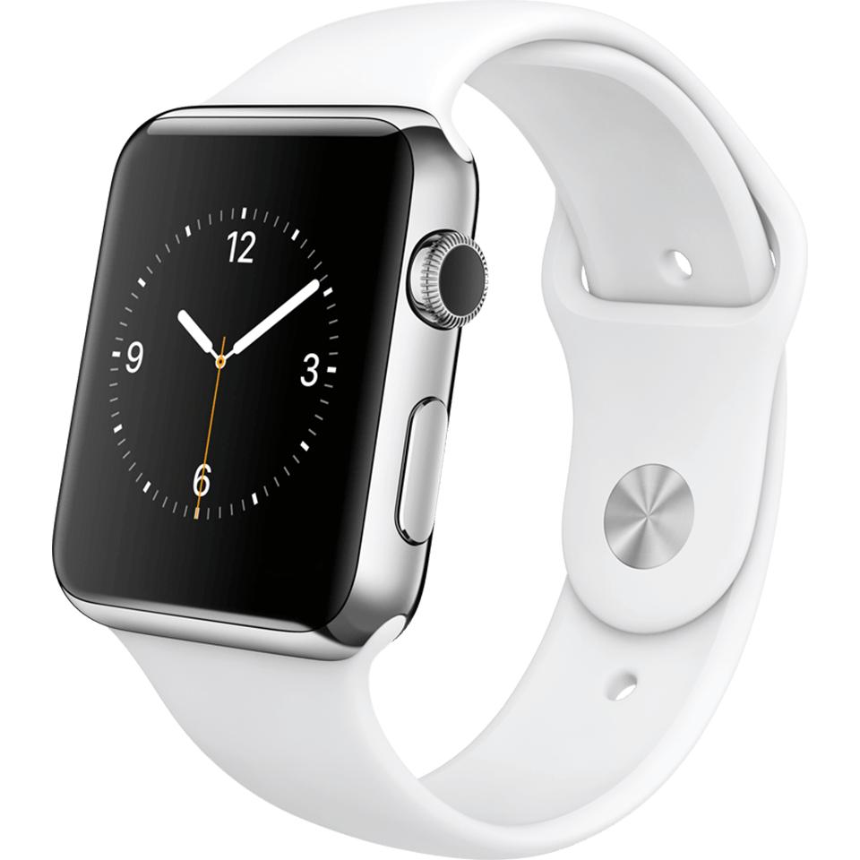 LogoiX: Apple Watch Sport (42mm, weiß) um 254 € - 22% sparen
