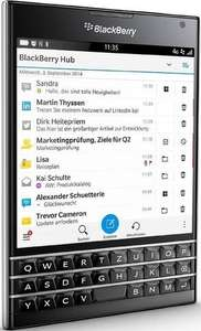 Amazon FR: BlackBerry Passport (QWERTZ) um 263 € - statt 361 €