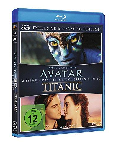 Avatar 3D und Titanic [3D Blu-ray] um 18€ (Prime)