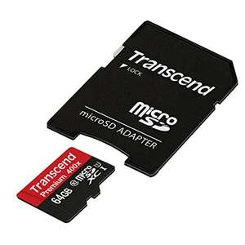 Transcend microSDXC 64GB Class 10 UHS-I (TS64GUSDU1)