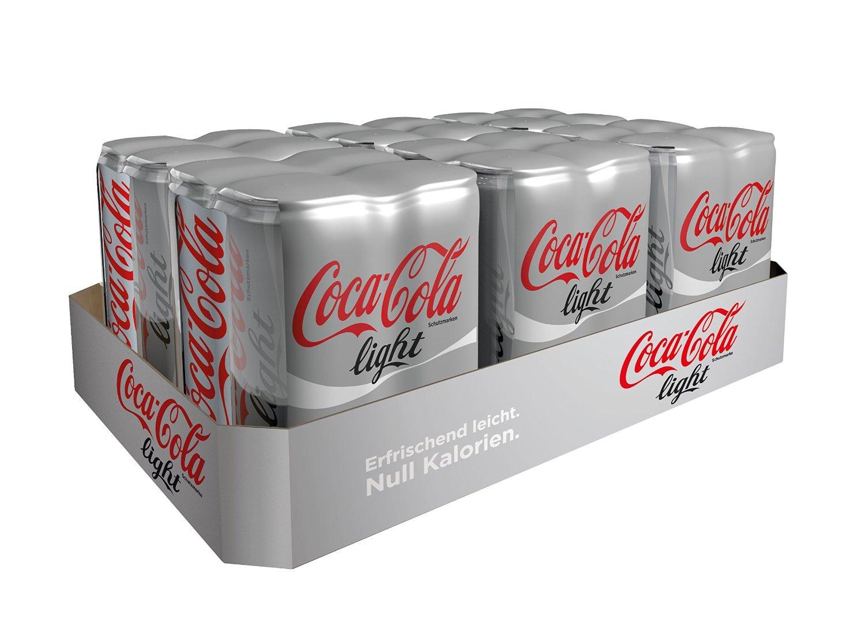 [Amazon.de][Rabattfehler?] 25% auf ausgewählte Getränke - 24x 0,33L Coca Cola light für 6,29€
