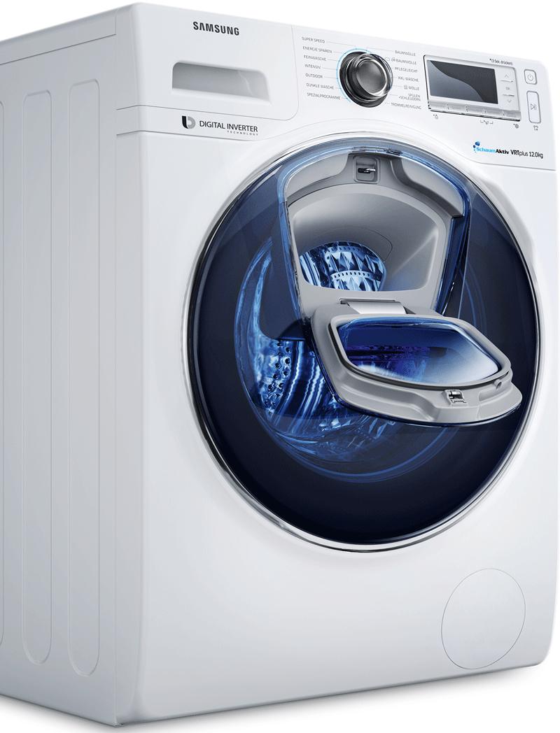 Samsung Waschmaschinen Cashback Aktion - bis zu 300€