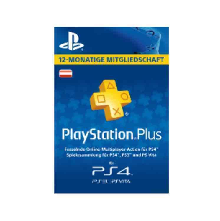 NUR ONLINE: SATURN: PLAYSTATION PLUS MITGLIEDSCHAFT - 12 MONATE [PS4, PS3, PS VITA PSN CODE - ÖSTERREICHISCHES KONTO]