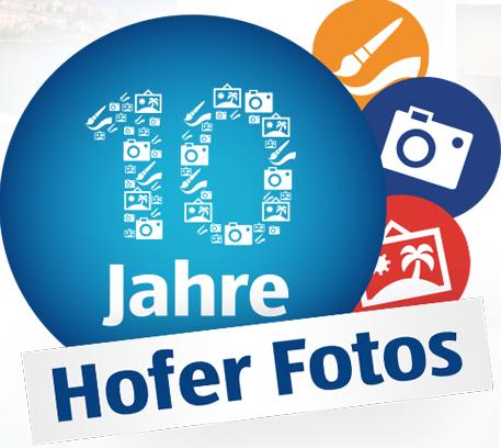 Hofer Foto Service: 10 € Gutschein ab 25 € - 40% sparen