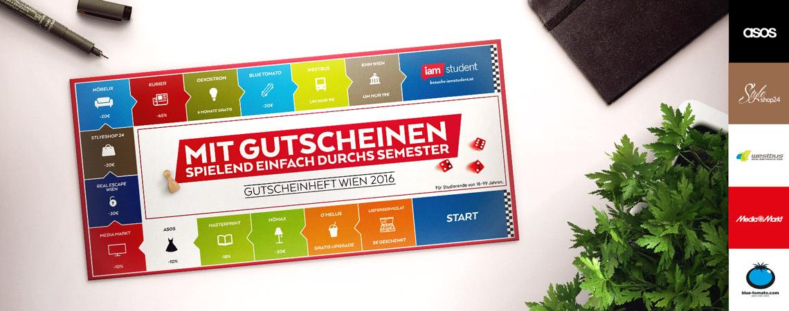 iamstudent Gutscheinheft - auch für nicht Studierende! - u.a. mit: 5€ bei Lieferservice.at