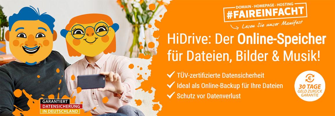 [Strato] HiDrive 1000GB 3,70€/Monat für 12 Monate (statt 7,50€) - Cloud Storage