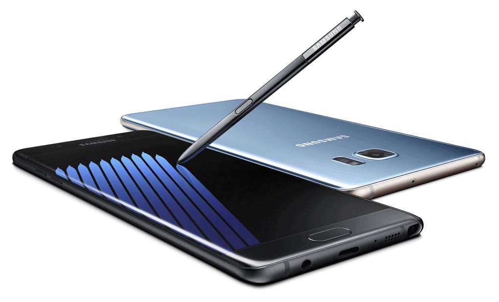 Info zum Austausch des Note7 bei Samsung