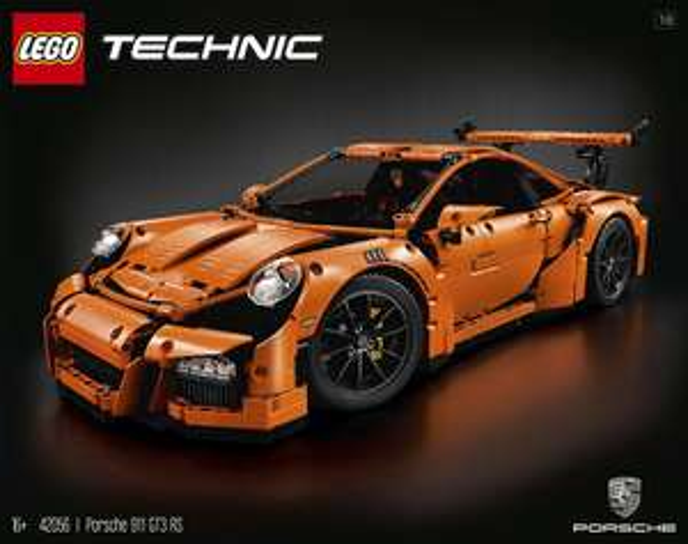 Interspar:  LEGO Technic 42056 - Porsche 911 GT3 RS für 29€