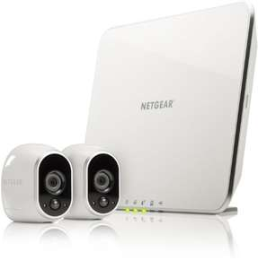 """Netgear Arlo"" Überwachungssystem (2 HD-Cams) um 250 € - Bestpreis - 22% sparen"