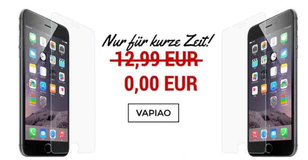 Panzerglas-Folie für iPhone um 3,57 € inkl Versand