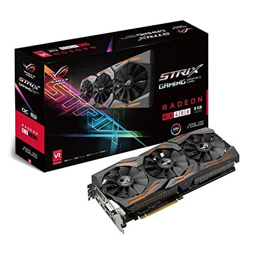 [Amazon] [Preisfehler] Asus STRIX-O8G-GAMING RX480 8GB Grafikkarte schwarz für 28€ (PVG: ~300)