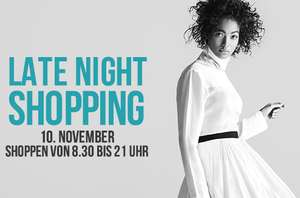 Designer Outlet Parndorf – Late Night Shopping am 10. November 2016 – bis zu 80% Rabatt