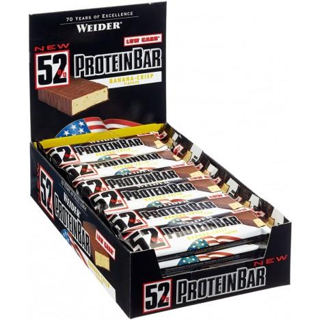 Weider 52% Protein Bar, Schokolade (24 x 50 g)
