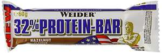 24x Weider Protein-Kohlehydrate Riegel (Haselnuss) um 15 € - 50% sparen