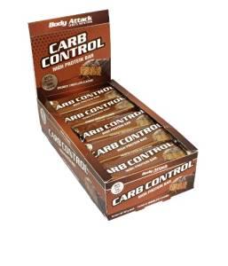 Body Attack Carb Control 45% Protein Riegel Box