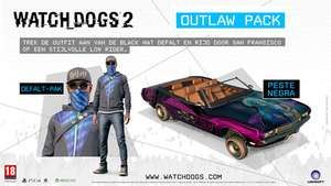 Watch Dogs 2 Outlaw Pack (PS4 / Xbox One / PC) komplett kostenlos!