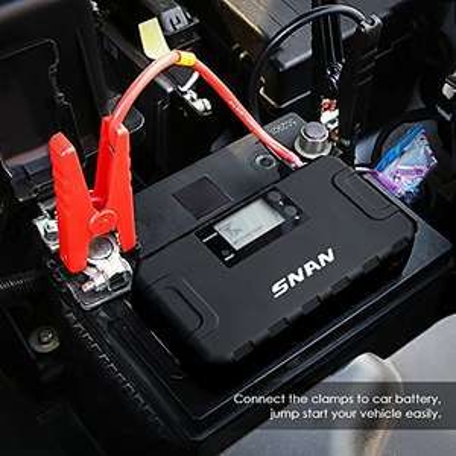 Starthilfe-Booster/Powerbank(500A/16,000mAh) mit LCD Anzeige für 59,99€ (statt 79,99€)