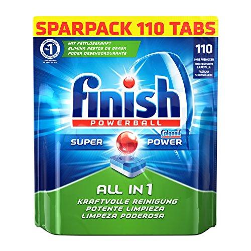 """Finish """"All in 1"""" Geschirrspül-Tabs (110 Stück) um 13,29 €"""