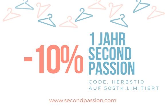 Second Passion feiert den 1. Geburtstag