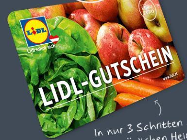 Gratis - 5 EURO LIDL-EINKAUFSGUTSCHEIN