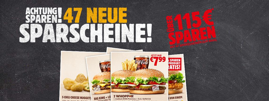 Burger King Österreich - neue Gutscheine - gültig bis zum 4. Dezember 2016