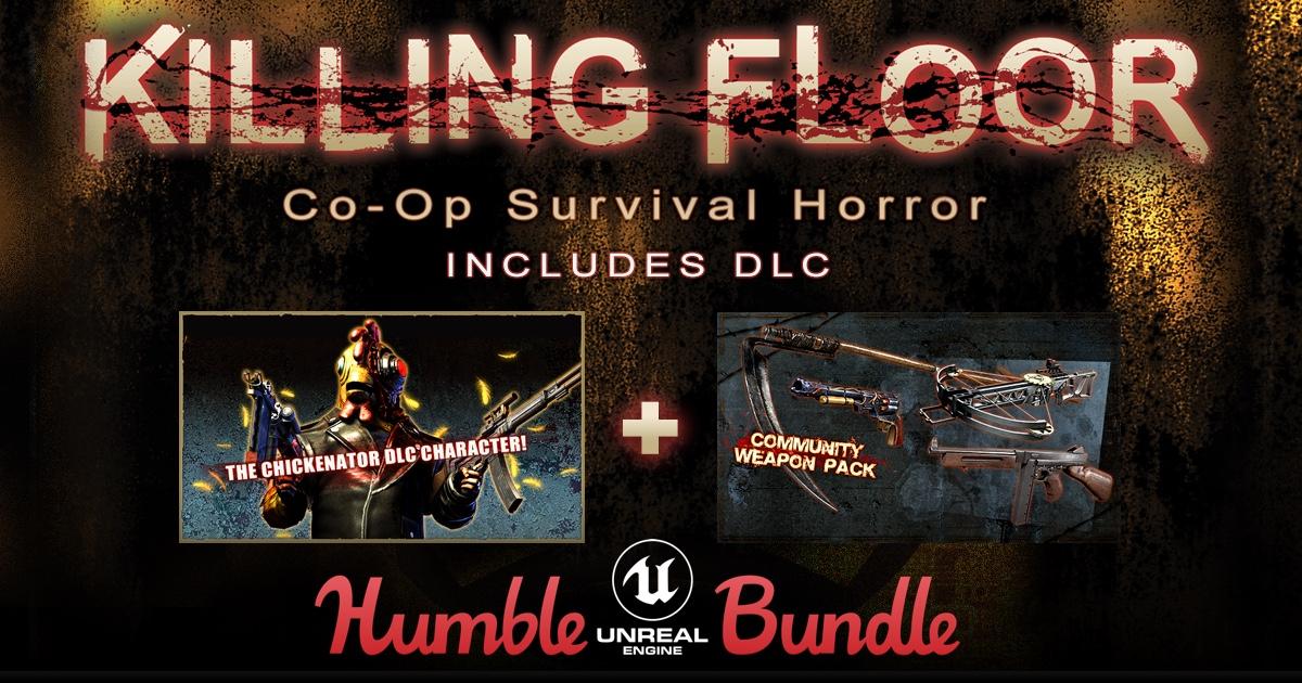 Humble Unreal Engine Bundle - bis zu 7 Spiele ab 0,90€