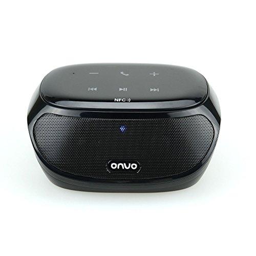 ONVO Bluetooth Lautsprecher mit NFC Funktion und Freisprecheinrichtung mit Gutschein für 9,84 € statt 23,99 € @Amazon