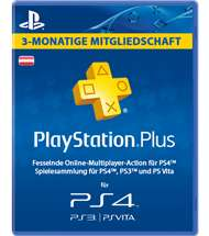 |SATURN.AT| PLAYSTATION PLUS 3MONATE UM 13€ statt 20€