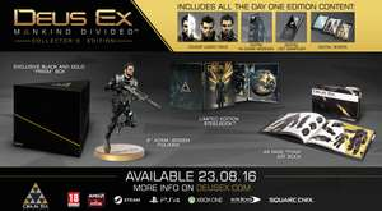 Deus Ex: Mankind Divided Collectors Edition XBO um 69,99€ statt 98,98€