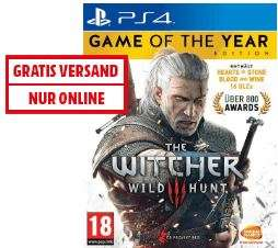 [Mediamarkt.at]The Witcher 3: Wild Hunt - Game of the Year Edition um €27,99 versandkostenfrei