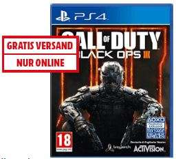 [Mediamarkt.at]Call of Duty: Black Ops III PC/PS4/XBONE um €27,99 versandkostenfrei