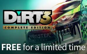 [Steam] Dirt 3 Complete Edition (FREE)