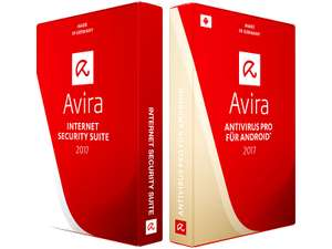 Avira Internet Security Suite 2017 (Windows & Android) um 5,90 € - 86% sparen