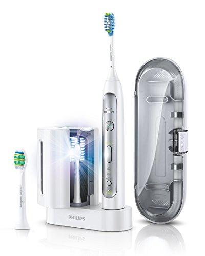 [Amazon.de] Philips Sonicare FlexCare Platinum Zahnbürste mit UV-Reinigungsgerät + 4 Aufsteckbürsten für 134,99€