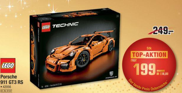 [Metro]LEGO Technic Porsche 911 GT3 RS - DAS Lego zum neuen Bestpreis!