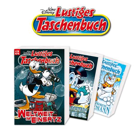 LTB Lustiges Taschenbuch MIniabo für 12,50 + 10 EUR Amazon Gutschein