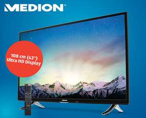 "Hofer: Medion 43"" UHD TV um 379 € - am 24.11.2016"