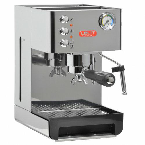 Lelit PL41EM Caffè Espresso Siebträgermaschine mit Manometer [Amazon.it]