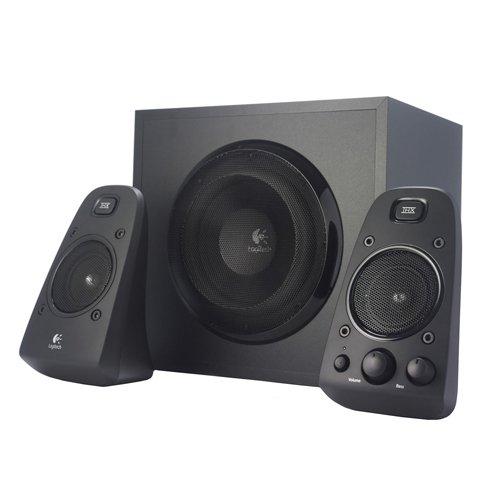 """Logitech """"Z623"""" 2.1 Stereo-Lautsprecher um 99 € - 23% sparen"""