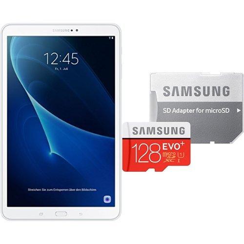 Samsung Galaxy Tab A (2016) T580N + Samsung MicroSDXC 128GB EVO Plus für 200,67€