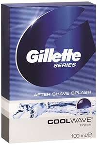 "(Top!) 6x Gillette Aftershave ""Cool Wave"" (6x 100ml) um 8,26 € - statt 35,70 € - 77% sparen"