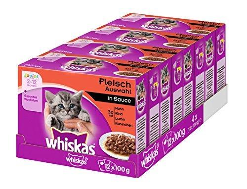 Whiskas-Katzenfutter bis 52% reduziert (Amazon)